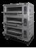 Подовый пекарский  газовый шкаф с электронным управлением ШЖГ/3 (температурный режим до 400С, с парогенераторами) Grill Master
