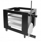 Подставка под печь для пиццы ППЭ/1-4-35(сталь+н/сталь)