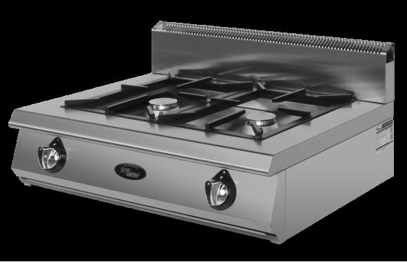 Плита 2-х горелочная газовая Ф2ЖТЛПГ (настольная) Grill Master