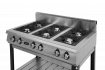 Плита газовая 6-ти горелочная Ф6ПГ/800  (на подставке) Grill Master