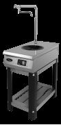 Плита индукционная Ф1ИП/800 (для WOK сковород, с краном для залива)