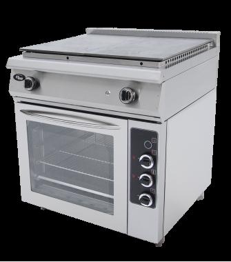 Плита со сплошной поверхностью газовая Ф5ЖТЛСПДГ (с комбинированной духовкой) Grill Master