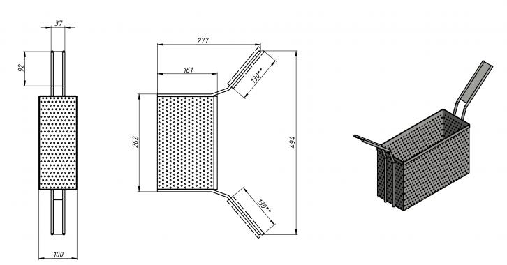 Макароноварка газовая Ф1МВГ/800 Grill Master