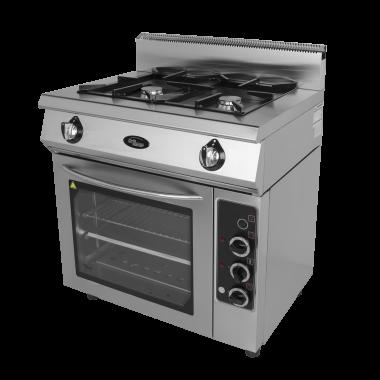 Плита 2-х горелочная газовая Ф2ПДГ/600 (с комбинированной духовкой) Grill Master