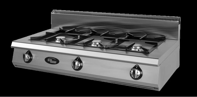Плита 3-х горелочная газовая Ф3ПГ/600 (настольная) Grill Master