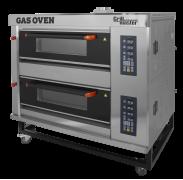 Подовый пекарский  газовый шкаф с электронным управлением ШЖГ/2 (4 противня)