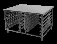 Подставка под пароконвектомат (н/сталь)
