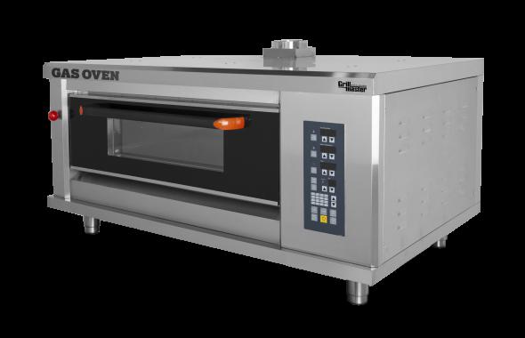Подовый пекарский  газовый шкаф с электронным управлением ШЖГ/1 (2 противня) Grill Master