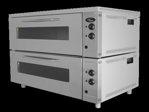 Шкаф жарочно-пекарский ШжЭ/2 (секционный, кр. металл+н/сталь) Grill Master
