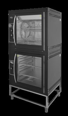Конвекционный гриль Ф3Кк1Э с витриной ВтЭ на подставке Grill Master