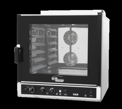 Пароконвектомат газовый  ПКГ/И (инжекторный) Grill Master
