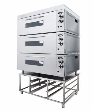 Шкаф жарочно-пекарский Шжэ/3 (секционный, кр. металл+н/сталь) Grill Master