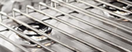 Решетка для газовой плиты, нержавеющая сталь, 800 линия