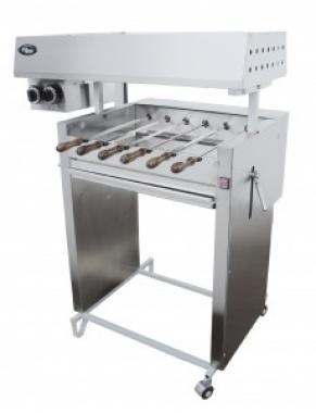 Шашлычница на твердом топливе и газе Ф2ШУГ Grill Master