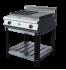Поверхность жарочная газовая Ф2ПЖГ/800 (на подставке) Grill Master